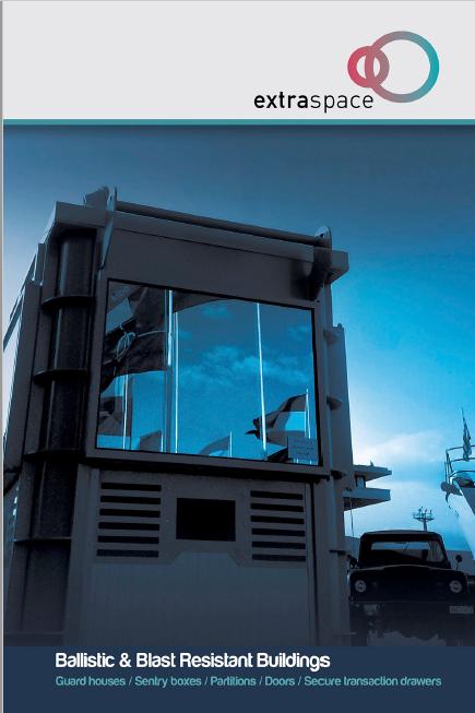 Blast resistant buildings | Brochures | Portable Security Cabins